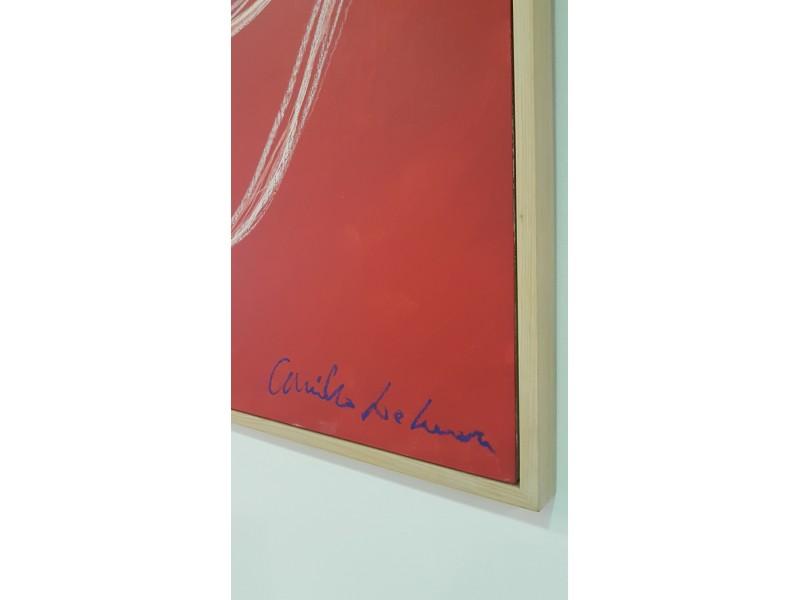 Artwork - Camillo De Luca SALE Untitled (Red)