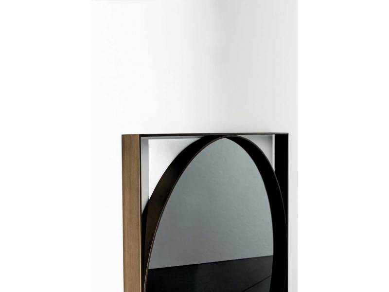 visual geometric mirror   sovet italia accessories hgfs
