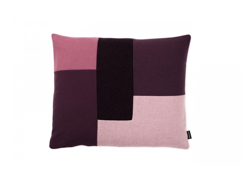 Brick Cushion Purple/Burgundy/Pink - Normann Copenhagen SALE Now $80
