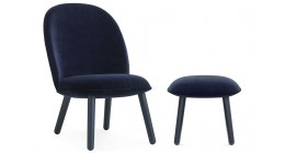 Ace Lounge Chair and Ottoman Set - Normann Copenhagen - SALE