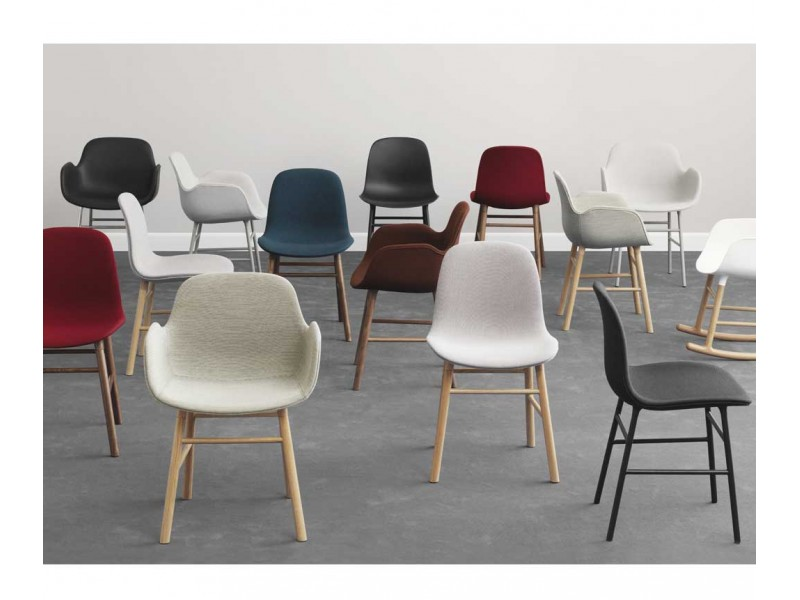 Ordinaire Form Fully Upholstered Armchair   Normann Copenhagen Chairs