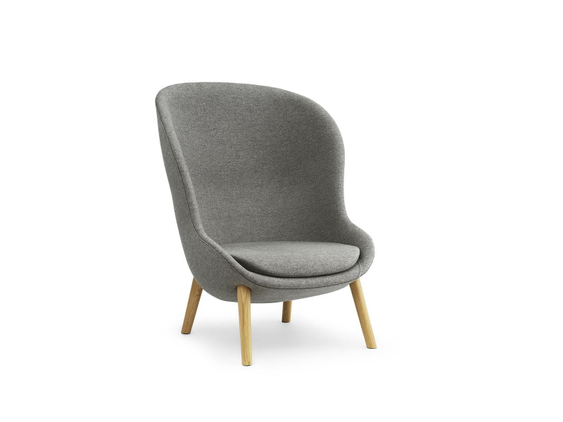 Hyg Lounge Chair High Oak - Normann Copenhagen