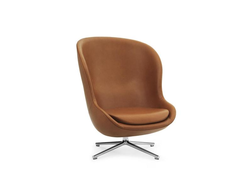 Hyg Lounge Chair High Swivel - Normann Copenhagen