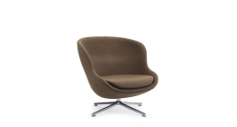 Hyg Lounge Chair Low Swivel - Normann Copenhagen