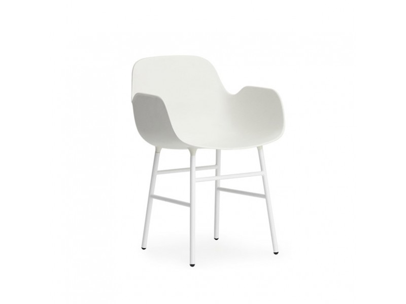 Form Armchair Steel - Normann Copenhagen Chairs