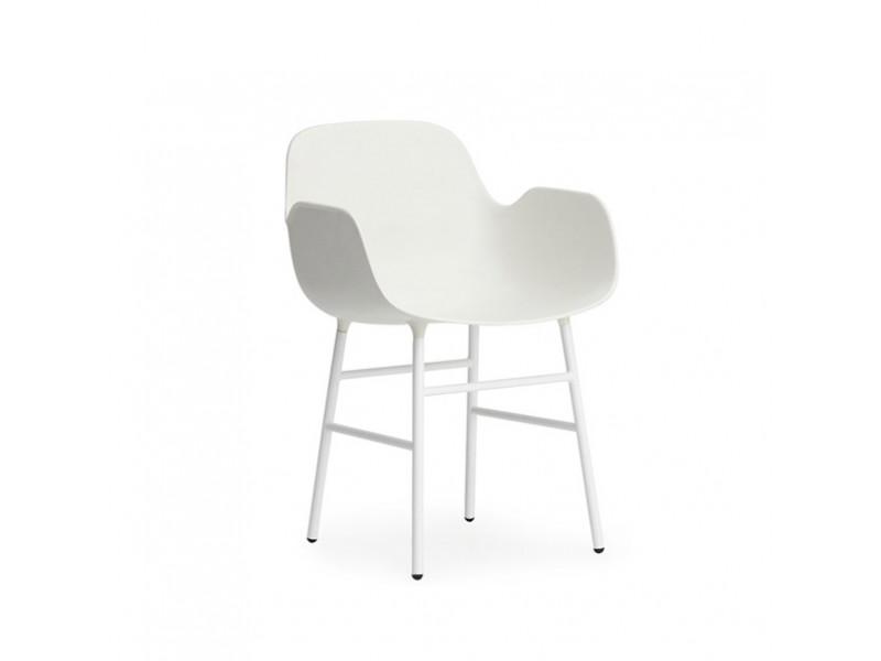 Form Armchair Steel - Normann Copenhagen Chairs