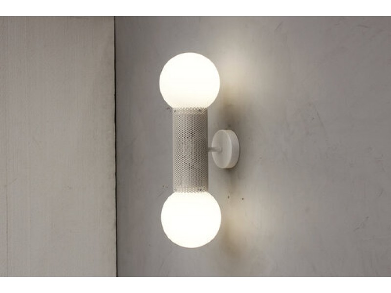 Perf Double Wall Sconce  - B-TD Lighting