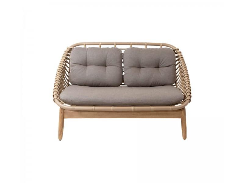 Strington 2-seater sofa (55020) - Caneline Outdoor Seating