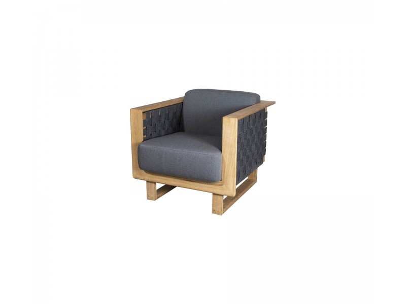 Angle Armchair - Caneline Outdoor Lounge