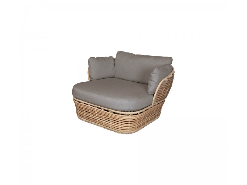 Basket Lounge Chair - Caneline Outdoor Seating