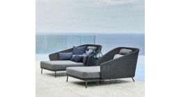 Mega Daybed - Caneline Outdoor Seating