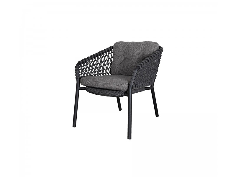 Ocean Lounge Chair Stackable - Caneline Outdoor Seating