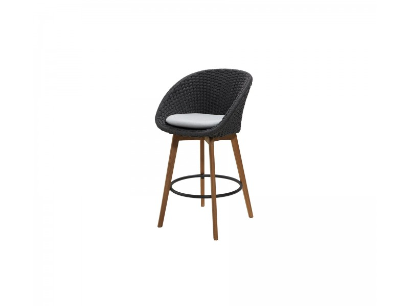 Peacock Bar Chair - Caneline Outdoor Seating