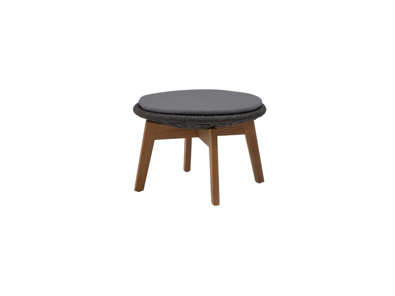 Peacock Footstool / Coffee Table - Caneline Outdoor Tables