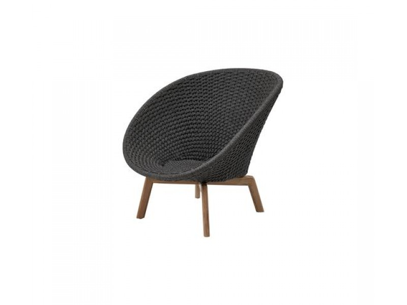 Peacock Lounge Chair - Caneline Outdoor Seating