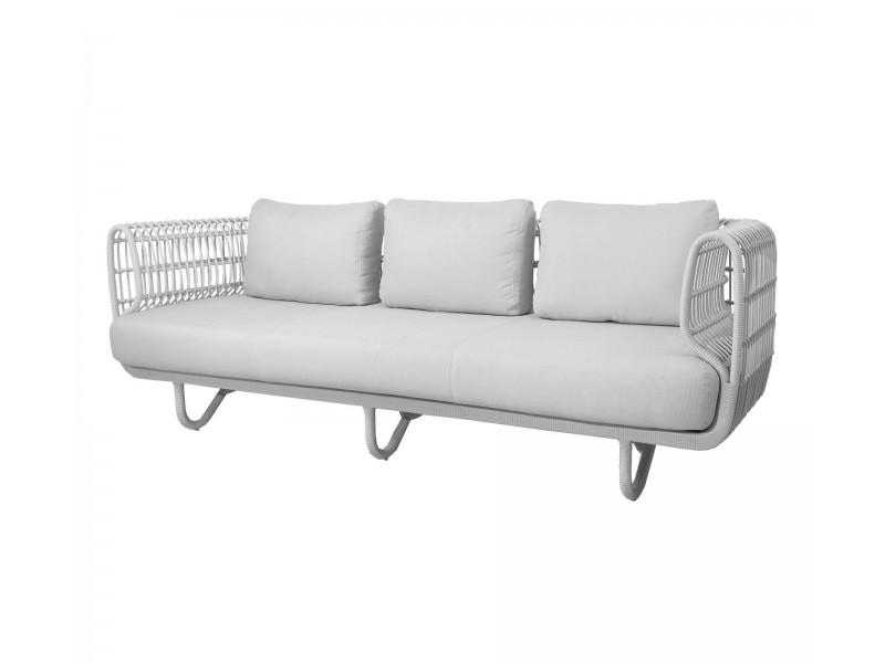 Nest 3 seater Sofa - Caneline Outdoor Lounge