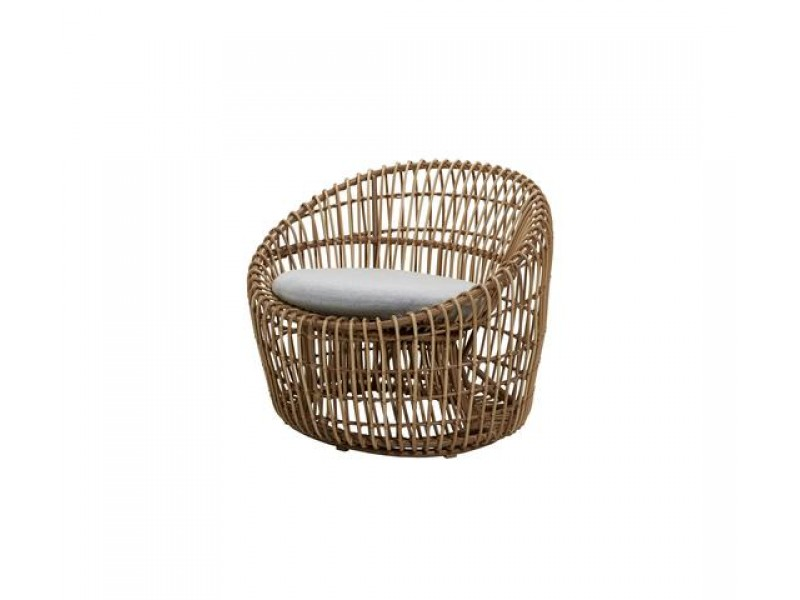 Nest Round Chair - Caneline Outdoor Armchair