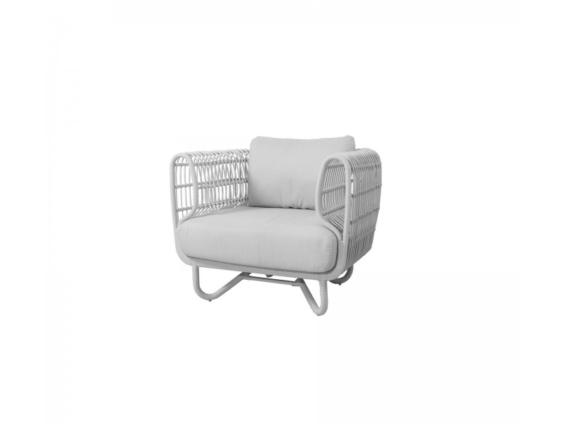 Nest Lounge Chair - Caneline Outdoor Armchair