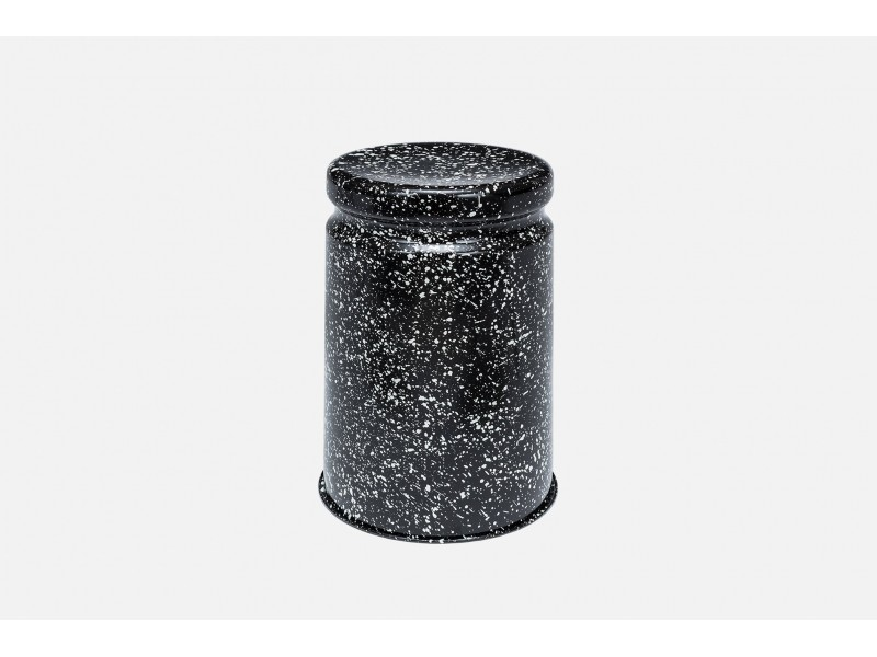 SALE Stools - Last Stool Black Splatter - Hem