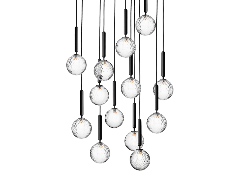 Miira 13 Optic Chandelier - Nuura Lighting