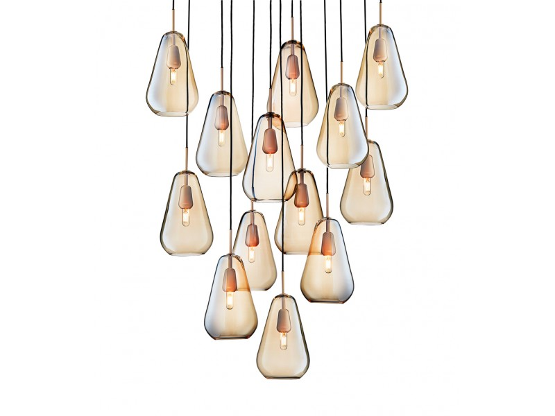 Anoli 13 Chandelier - Nuura Lighting