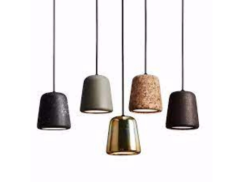 SALE Lights - Material Pendant  - New Works