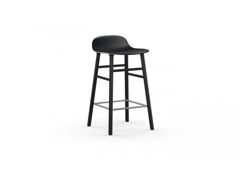Form Stool 65cm Black legs - Normann Copenhagen Seating