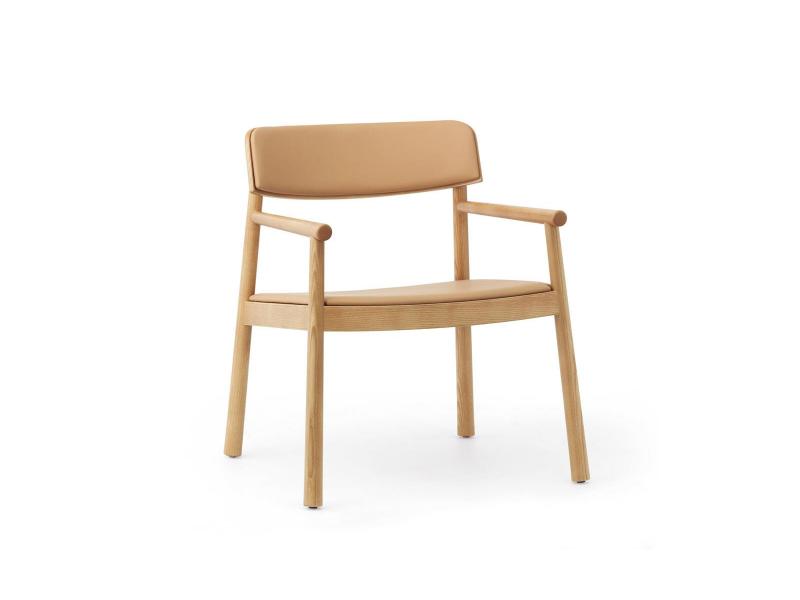 Timb Lounge Upholstered Armchair - Normann Copenhagen Chairs