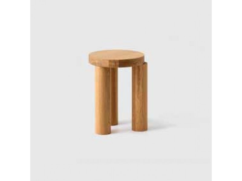 Offset Stool / Side Table - Resident Tables