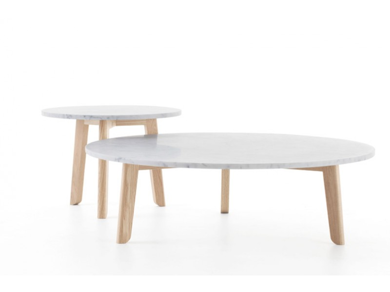 Trio Marble Coffee Table - Studio Pip Tables
