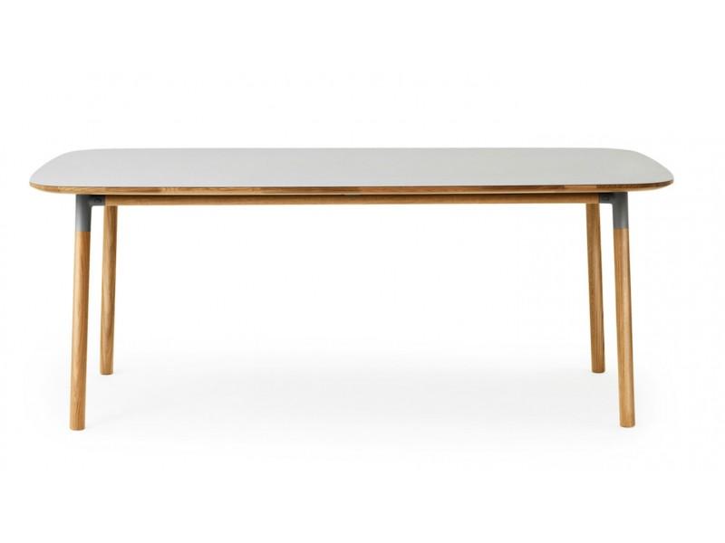 Form table 95x200 normann copenhagen tables hgfs for Table form design