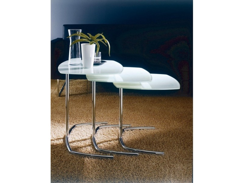 Space Nesting Tables - Bontempi Casa Tables