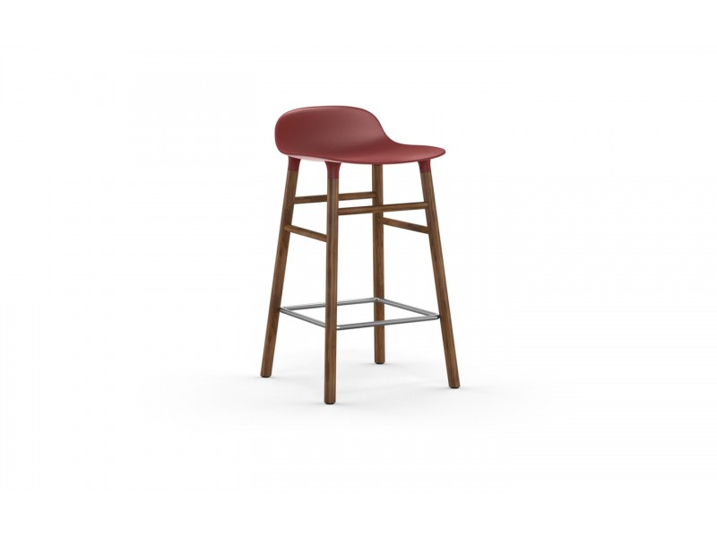 Form Stool 65cm Walnut legs - Normann Copenhagen Seating