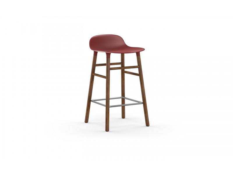 Form Stool 65cm Walnut legs - Normann Copenhagen Seating