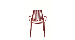 Rion Outdoor Chair Coral Red and Sage Green - Fast SALE