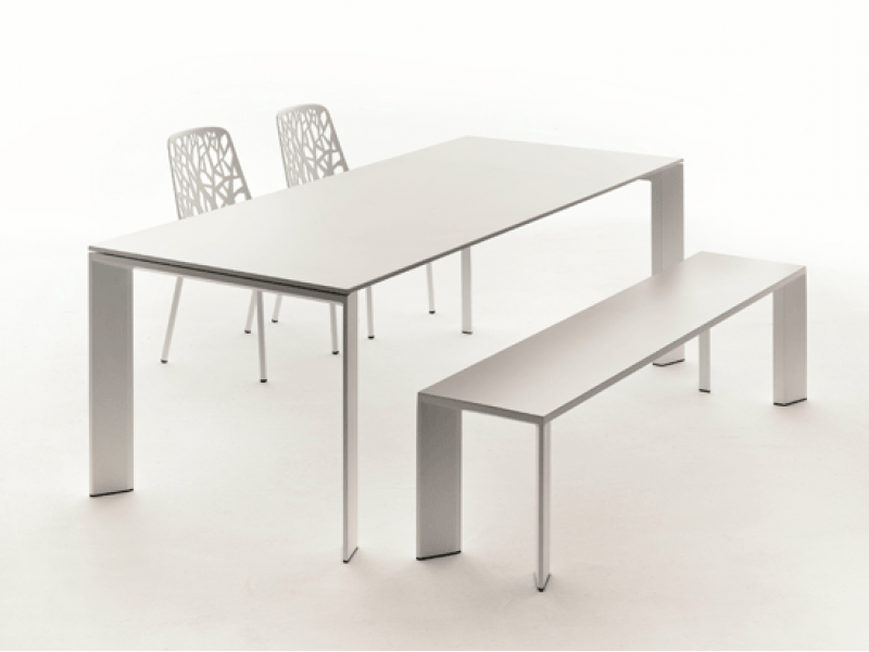 Grande arche extension table fast outdoor hgfs designer for Grande table extensible