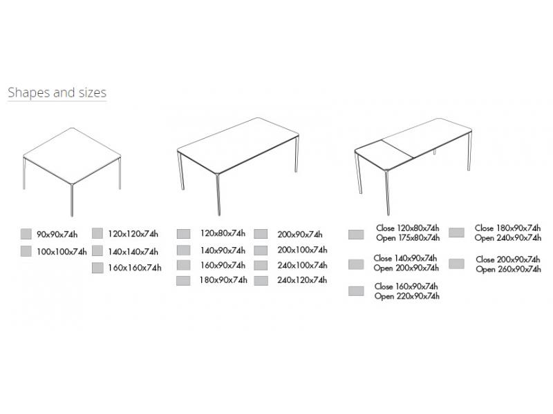 Dining Table For 20 Dimensions: Sovet Italia Tables, HGFS Designer