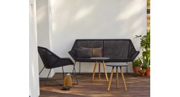 Breeze Two-Seater Sofa - Caneline Outdoor Chairs