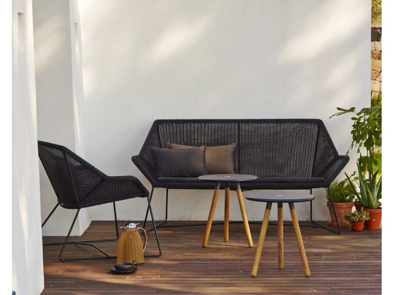 Breeze Two Seater Sofa   Caneline Outdoor Chairs