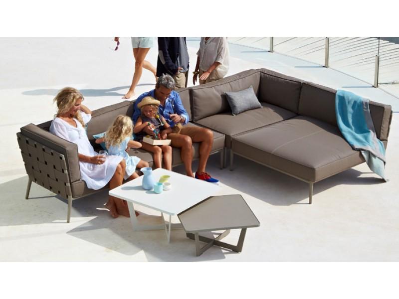 Conic Lounge Caneline Outdoor Sofas Hgfs Designer