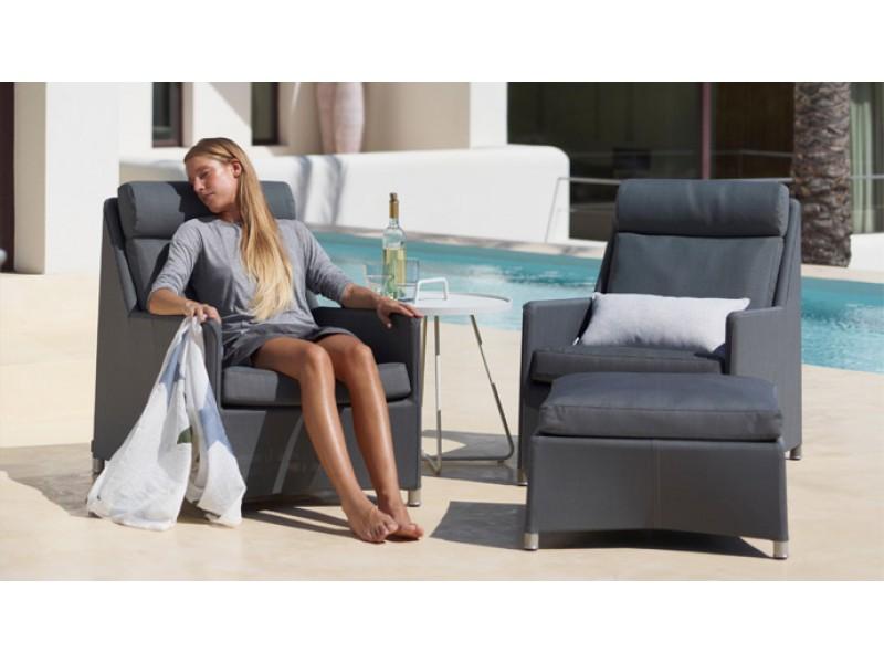 Diamond Highback Armchair - Caneline Outdoor