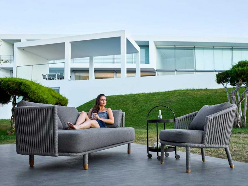 Moments Sofa Caneline Outdoor Lounge Hgfs Designer