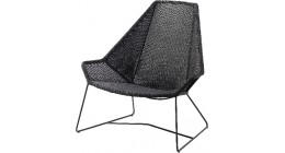 Breeze Lounge Highback - Caneline Outdoor Chairs