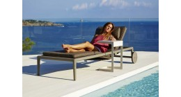 Conic Sunbed Sunlounge - Caneline Outdoor