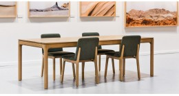 Finn Table & Hugo Chair - Studio Pip Timber Dining SET - SALE