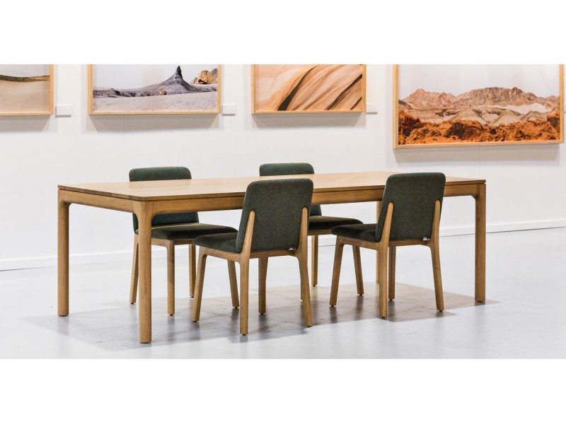 Finn Table & Hugo Chair - Studio Pip Timber Dining SET - SALE