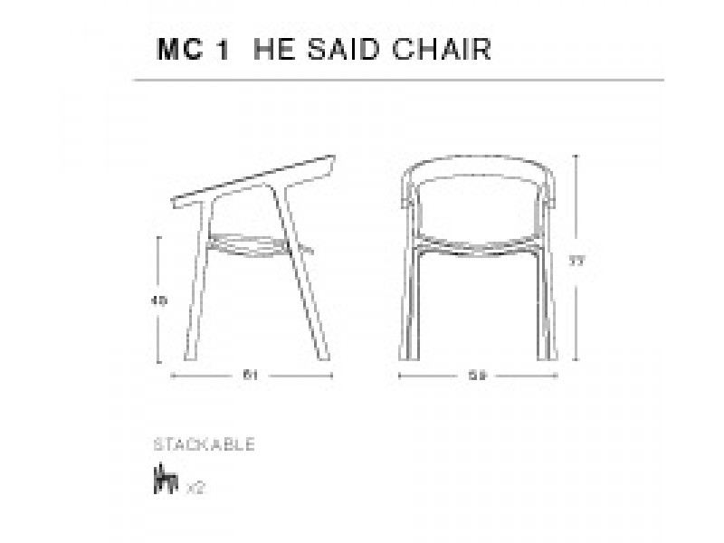He Said She Said Mattiazzi Chairs Hgfs Designer