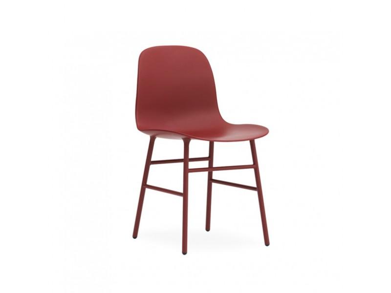 Form Chair Steel Normann Copenhagen Chairs Hgfs