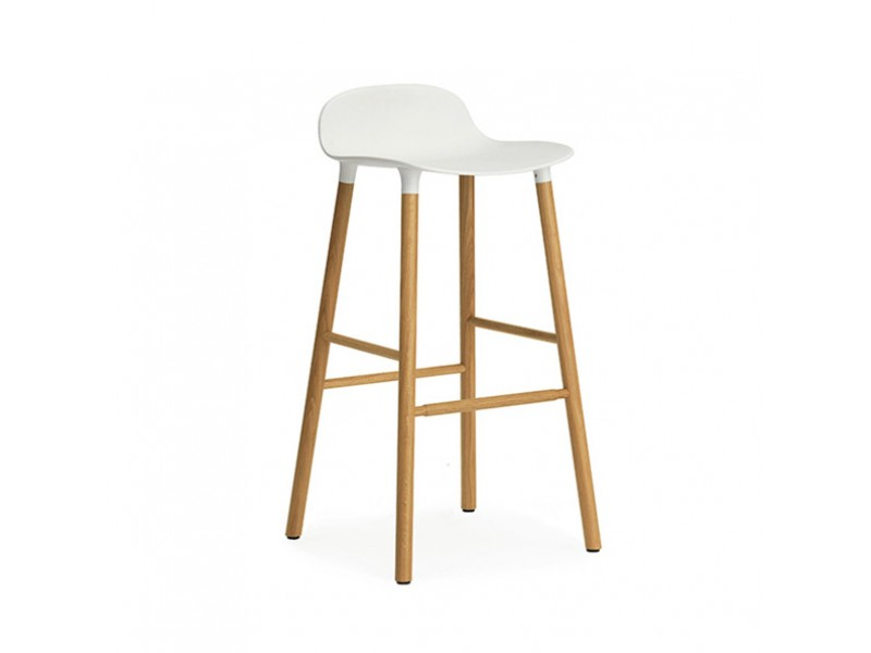 form bar stool 75cm normann copenhagen seating  hgfs dining room storage solutions dining room storage