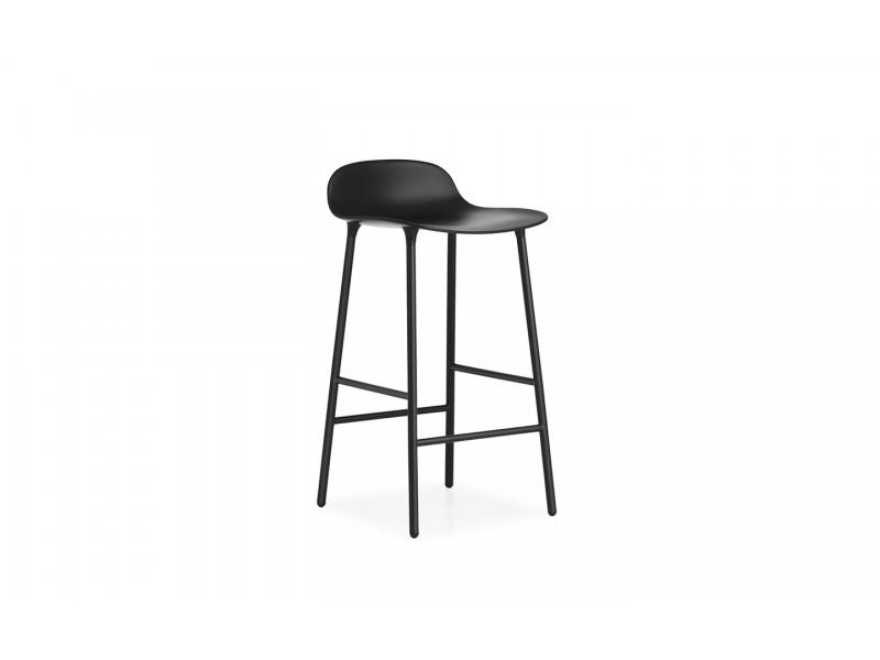 Form Stool Steel Legs 65cm Normann Copenhagen Seating